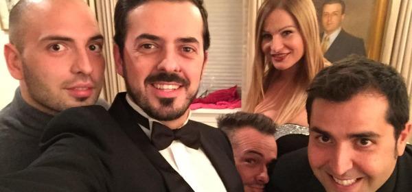 selfie del gruppo