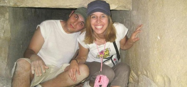 Erika Preti ed il compagno Dimitri Fricano - foto da fb